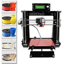 imprimante 3d de bureau geeetech prusa i3 structure à bricoler imprimante 3d en kit diy 5