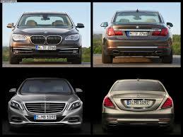 bmw serie 7 2014 photo comparison 2014 mercedes s class vs bmw 7 series facelift