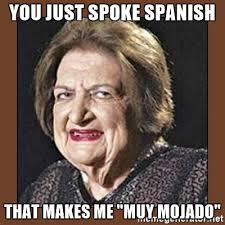 Spanish Meme Generator - you just spoke spanish that makes me muy mojado that makes me