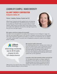 Interstate Power And Light Milwaukee Women Inc 2017 Research Report Gender Diversity