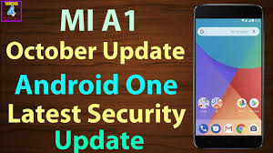 android security update mi a1 software update october security patch android one