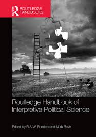 routledge handbook of interpretive political science r a w