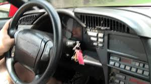 Corvette Zr1 Interior 1990 Corvette Zr1 Youtube