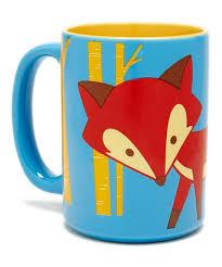 scion orange fox 14 3 oz mug zulily