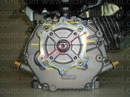 moteur ch395 kohler demarage electrique 9 5cv vilebrequin conique