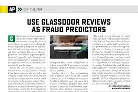 glass door employee reviews use glassdoor reviews as fraud predictors asphaltpro magazine