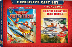 planes fire rescue blu ray