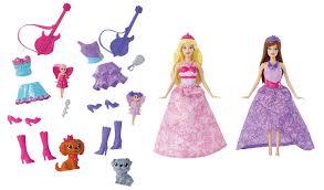 amazon barbie princess popstar mini doll giftset