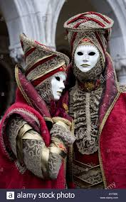 carnevale costumes two costumes and masks carnevale di venezia carnival in