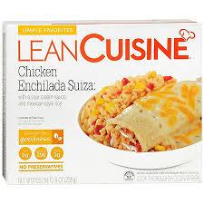 liant cuisine lean cuisine simple favorites frozen entree chicken enchilada