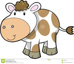 19864905 cute cow cartoon