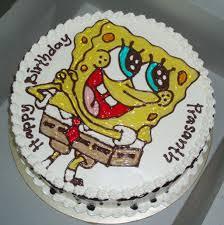 spongebob cake ideas spongebob birthday cake design birthday cake cake ideas by