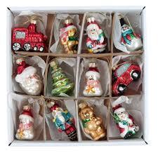 box of six coloured glass bird hanging decorations amazon co uk