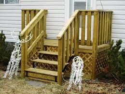 deck stairs design picture stair design for decks pictures of