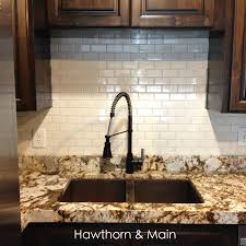 How To Install A Tile Backsplash In Kitchen Diy Kitchen Backsplash U2013 Hawthorne And Main