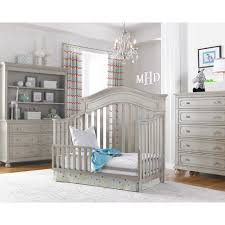 Baby Cache Lifetime Convertible Crib by Dolce Babi Naples Crib In Grey Satin By Bivona U0026 Company