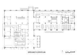 Ground Floor Plan Gallery Of Raheen Library At Australian Catholic University