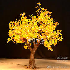 led tree 2018 indoor outdoor decoration 1 5m led maple tree light home