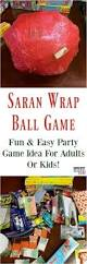 Games To Play In Christmas Parties - saran wrap ball game fun party game idea for kids or adults fun