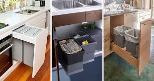 Out Kitchen Designs Kitchen Design Idea Hide Pull Out Trash Bins In Your Cabinetry