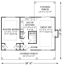 One Bedroom Cottage OneBedroom Cottage Home Plans Swawou - One bedroom house designs