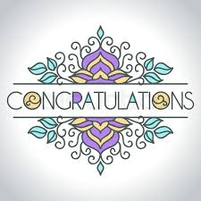 congratulations card vector card with floral ornament design congratulations card