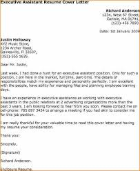 awesome collection of executive secretary cover letter template