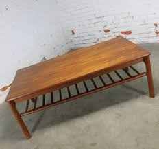 vintage mid century modern coffee table sold vintage danish mid century modern coffee table in teak by