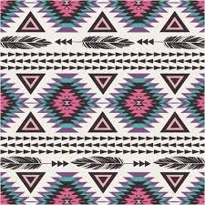 Tribal Pattern Comforter Pink Navajo Inspired Tribal Print Feathers Bedding U2013 Western