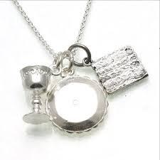 seder cup sterling silver passover charm necklace matzah seder plate elijah