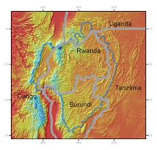 Map Of Rwanda Rwanda Gis Data