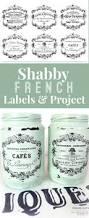 shabby french typography labels project gorgeous the