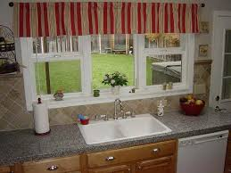 Kitchen Curtain Ideas Small Windows Miscellaneous Window Treatment Ideas For Kitchen Bay Window