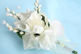silk corsages pkg of 12 ivory silk corsages or boutonnieres