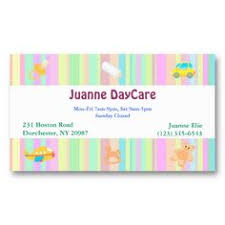 childcare business cards daycare business card babysitting business cards