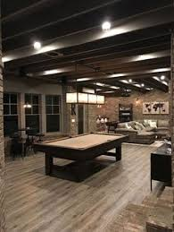 basement remodel with painted exposed ceiling interesting idea
