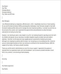 template letters of resignation example of resignation letter