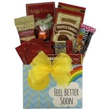 feel better soon gift basket candy chocolates get well gift baskets store shop the best