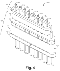 patent us8331077 capacitor for filtered feedthrough with annular