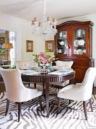 Zebra Dining Chairs Dining Room Zebra Chairs Decor Kitchens And Interiors