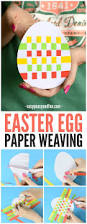easter egg paper weaving easy peasy and fun