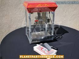 party rentals san fernando valley popcorn machine 8 oz