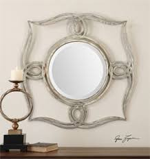 Uttermost Mirrors Dealers Uttermost Franklin Oval Silver Mirror Oval Mirror Features An