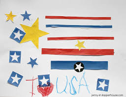 free patriotic printables easy kids craft to celebrate america