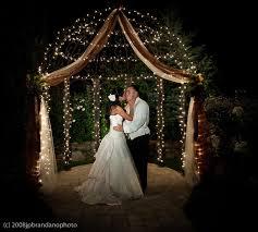 wedding arch lights 21 winter wedding decorations