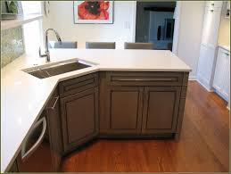 Kitchen Cabinets Kitchen Counter Height In Inches Granite by Granite Countertops Corner Kitchen Sink Base Cabinet Lighting