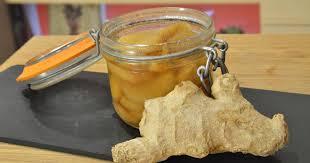 cuisiner le gingembre recette gingembre confit en vidéo