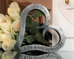 Blacksmith Home Decor Iron Anniversary Etsy