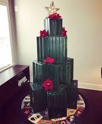 D Christmas Tree Cake - cat proof crate christmas tree hometalk