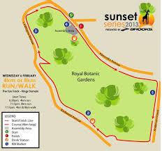 Royal Botanical Gardens Melbourne Map 4km Run Archives